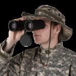 soldier binocular