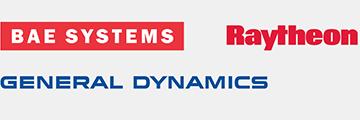 BAE Systems, Raytheon, General Dynamics